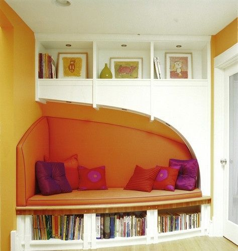 All I want is a quiet nook to disappear in with a book... is that too much to ask?