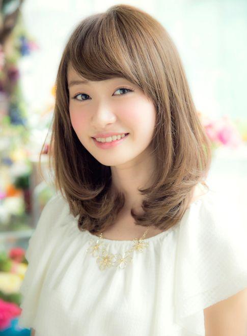 愛されミディアム 【NORA HAIR SALON】 http://beautynavi.woman.excite.co.jp/salon/22115?pint ≪ #mediumhair #mediumstyle #mediumhairstyle #hairstyle・ミディアム・ヘアスタイル・髪形・髪型≫
