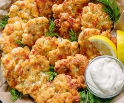 chicken fritters