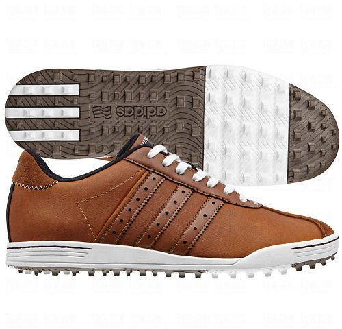 The Golf Warehouse deal, The adidas Mens adicross classic Golf Shoe is inspired by classic adidas models with a spikeless design with adiWEAR outsole for on and off course versatility.