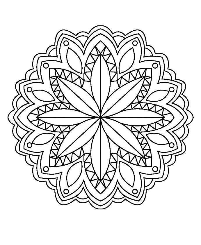 Makramee Blumenel 38 besten mandala bilder auf mandalas malvorlagen und