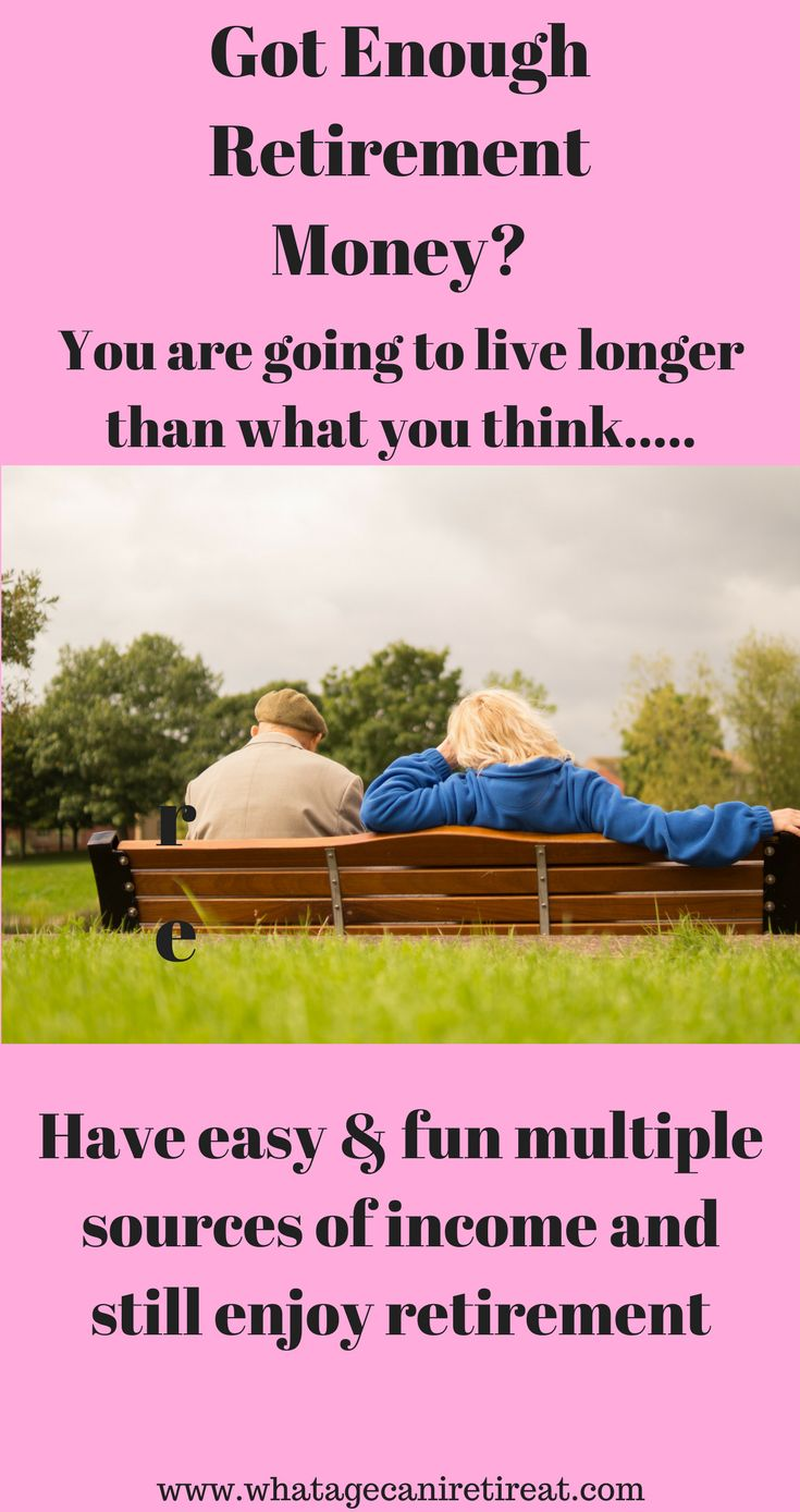 Retirement Money is something the majority of individuals keep pushing off until tomorrow. Retirement money, extra sources of income, retirement income. Make sure you have enough, there is always ways to build up your retirement. Check out these ideas and many more
