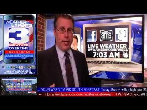WREG-TV Weather Overtime for THURSDAY MORNING 12.28.2017