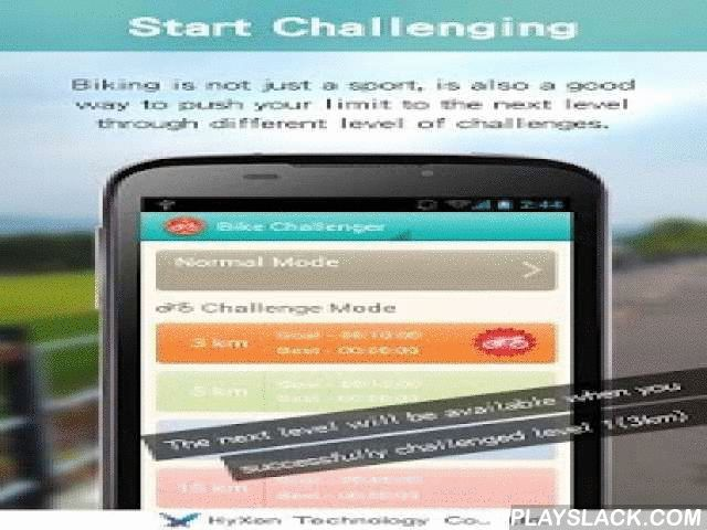 Bike Challenger(YouBike/Ubike)  Android App - playslack.com ,  Bike Challenger is a tool for you to record all the biking information in order to understand your training status.You might get bored during biking or you might want to challenge your own record, by downloading Bike Challenger would definitely help. This APP provides you different level of biking stage for you to challenge your own records also you can share your best record to your friends on Facebook. Not only these, Bike…