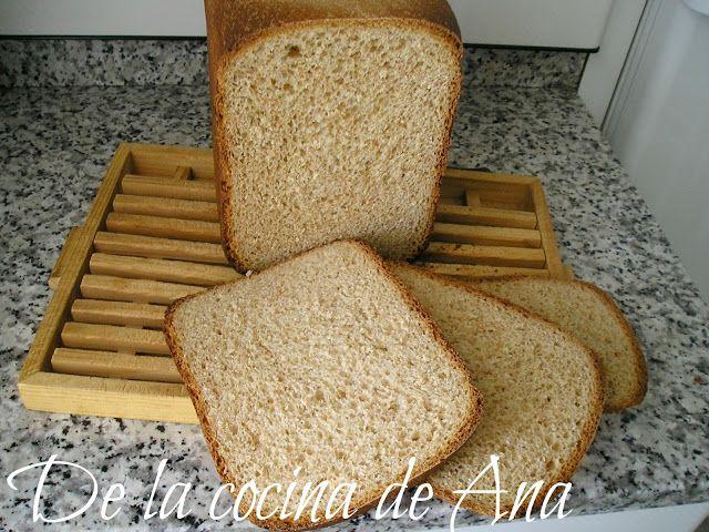 Pan de Molde Integral (Panificadora)