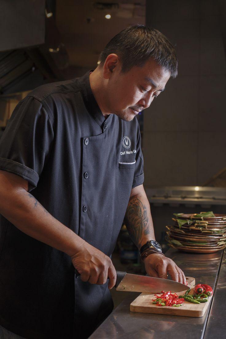 Portraits by Gia Marescotti | Jakarta | Indonesia | Photography | Chef marco preparing