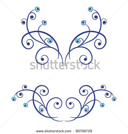 Branch. Decorative element for design. - stock vector