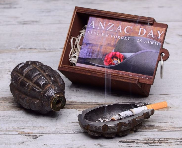 "Ashtray ""Anzac Day"" / WW1 Gallipoli / #AnzacDay #Gallipoli #ashtray #F-1 #F1 #handgrenade #hand #grenade #trench #art #shells #antiques #bullets #rings #ww2 #diy #trenchart #wwii #vase #lamp #worldwar1 #ww1 #trenchartstudio #studio #street #styles #posts #military #fashion #vintage #wedding #handicraft #steampunk #dieselpunk #style #Anzac #Day"