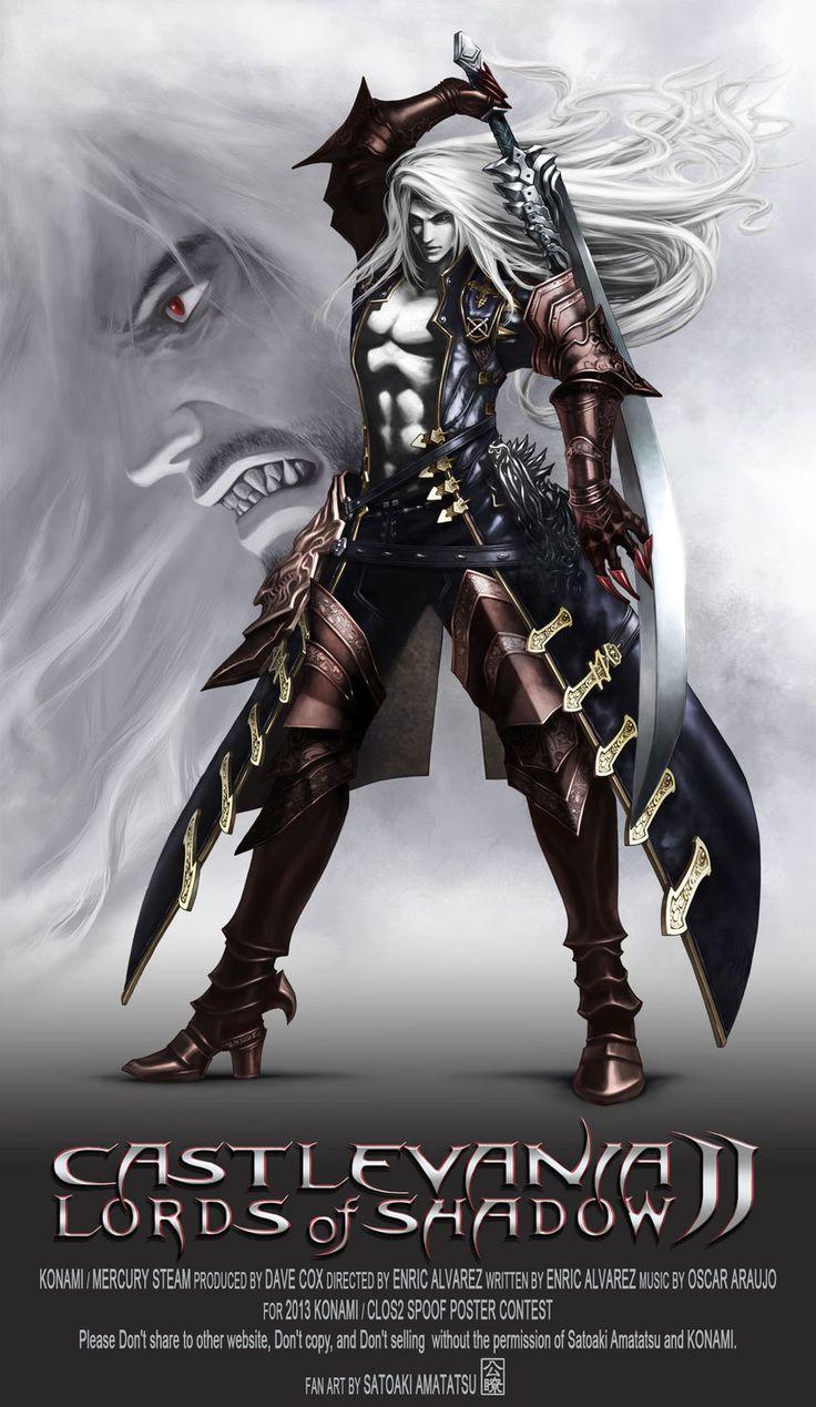 ALUCARD Castlevania Lords of Shadow 2 by SatoakiAmatatsu.deviantart.com on @deviantART