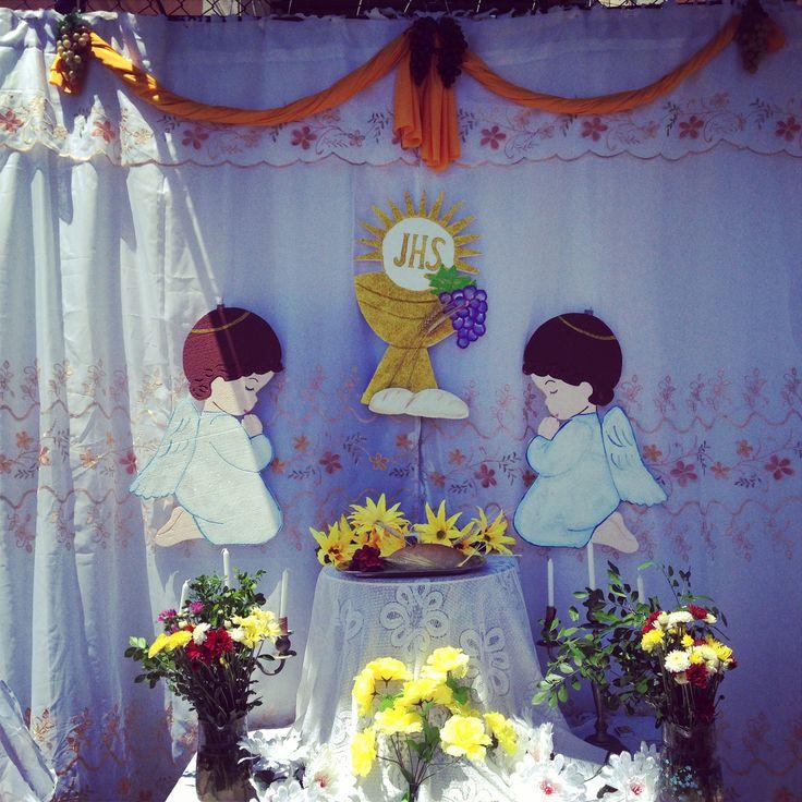 Santa Eucaristía / Santisimo Sacramento Fiesta de Corpus Christi