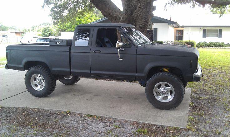 1987 ford ranger 4x4 29cu v6 5 speed 4in lift calebs truck 2013 trucks cars pinterest trucks 4x4 and so