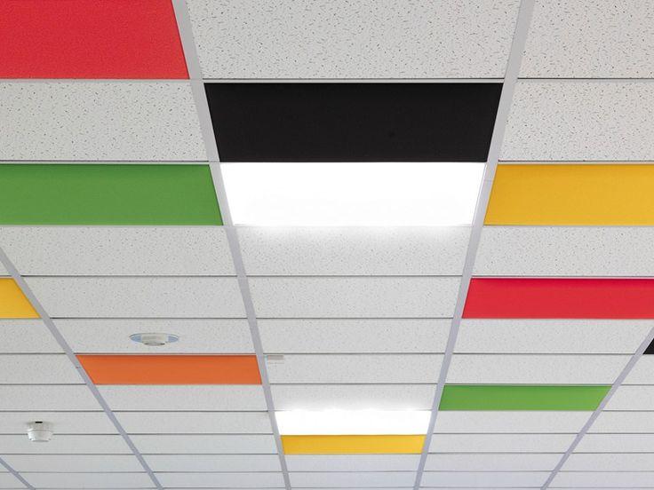 Pannelli per controsoffitto acustico IN by Caimi Brevetti design Caimi Lab