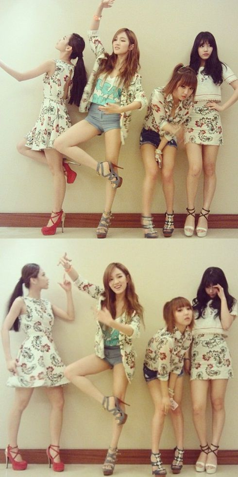 miss A update fans with adorable group shots