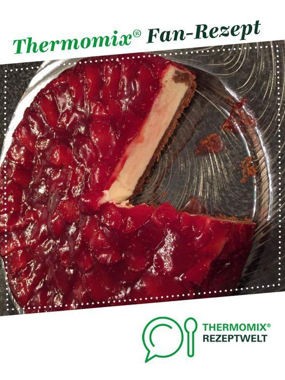 Erdbeer Cheesecake fast wie bei Starbucks von tantelilli88. Ein Thermomix ® Rezept aus der Kategorie Backen süß auf www.rezeptwelt.de, der Thermomix ® Community.