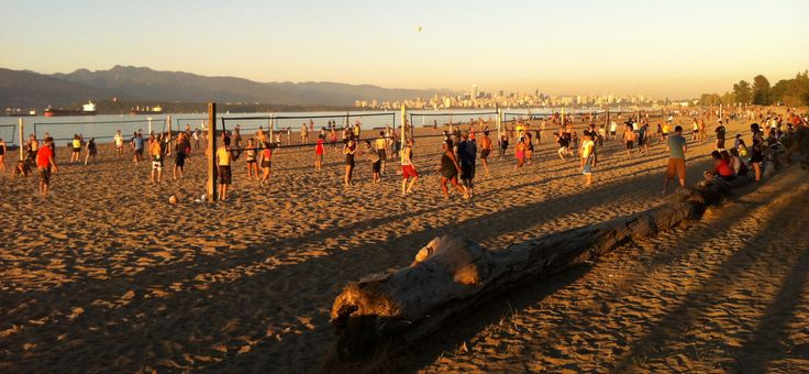 Canada - Vancouver B.C. - Beach Volleyball, Spanish Banks, Vancouver BC