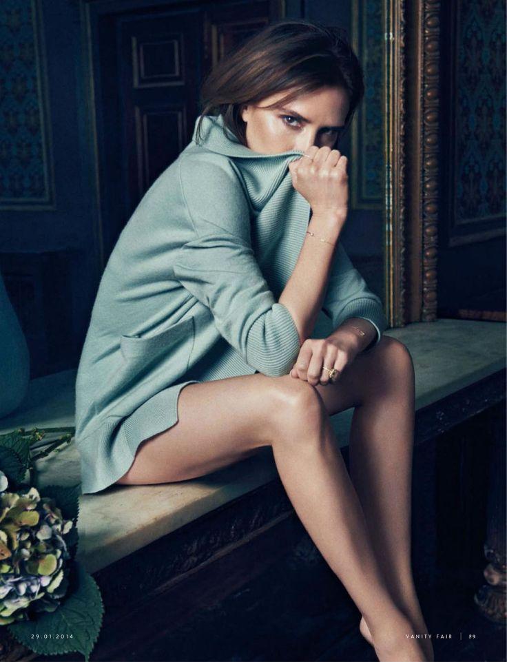 Victoria Beckham for Vanity Fair Italia January 2014