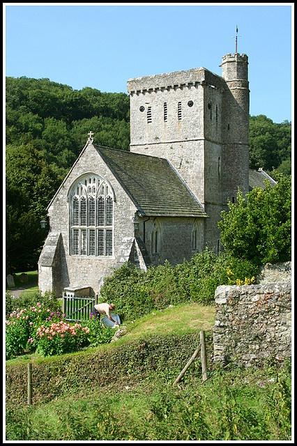 Branscombe church, Devon. Beautiful unspoilt village I love it here !!