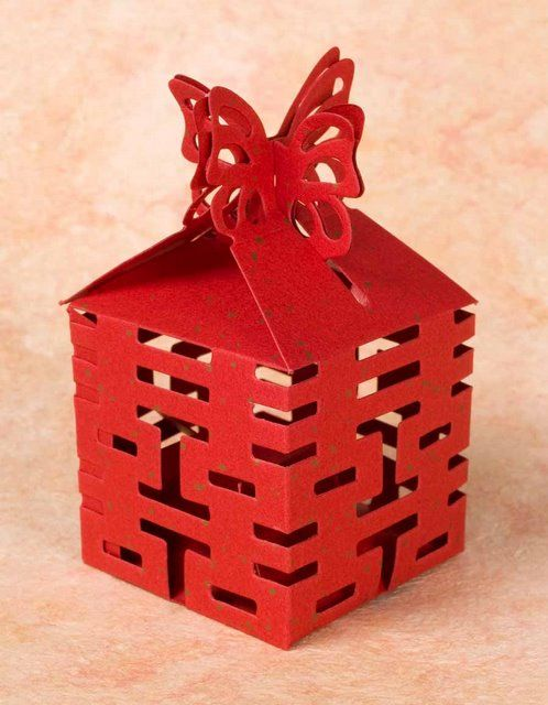 10 Double Happiness Boxes | Arts & Crafts | Wrapping Paper