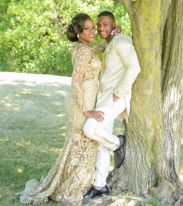 Best 25 nigerian wedding dress ideas on pinterest for African lace wedding dress