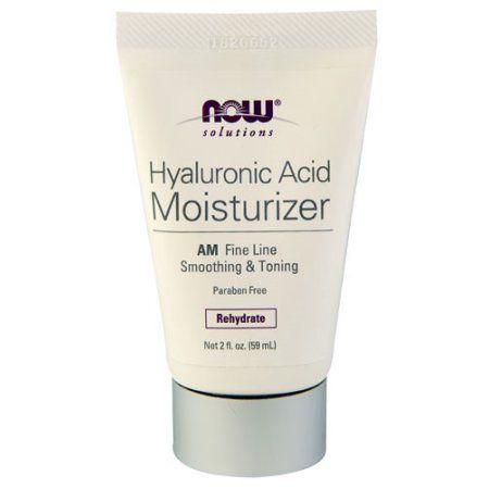 NOW Foods Solutons Hyaluronic Acid Moisturizer, 2 Fl Oz