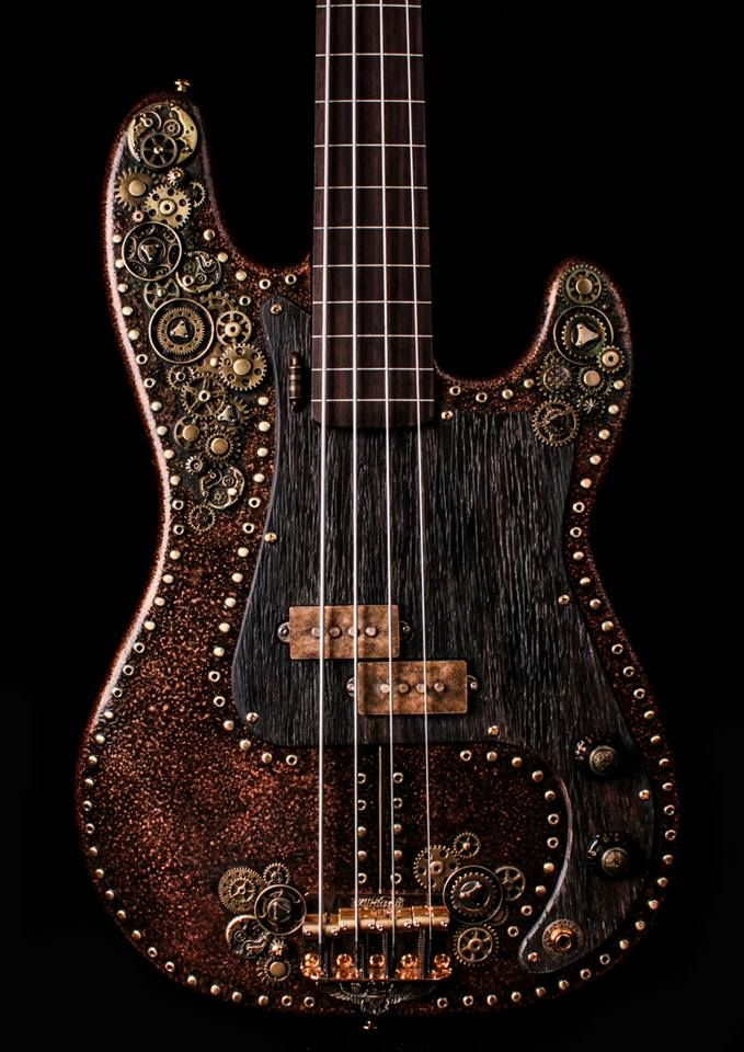 Steampunk Tendencies   ArchAngels' Steampunk P bass H/T Johnny Gore Musicshop https://www.facebook.com/groups/steampunktendencies/permalink/654384491282657/ New Group : Come to share, promote your art, your event, meet new people, crafters, artists, performers... https://www.facebook.com/groups/steampunktendencies
