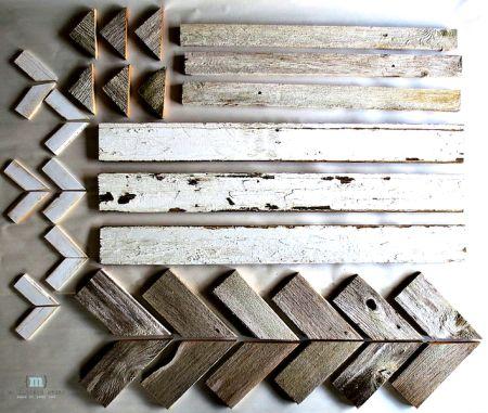 Snowflake Parts 300x254 Reclaimed Wood Snowflake | Winter Decor