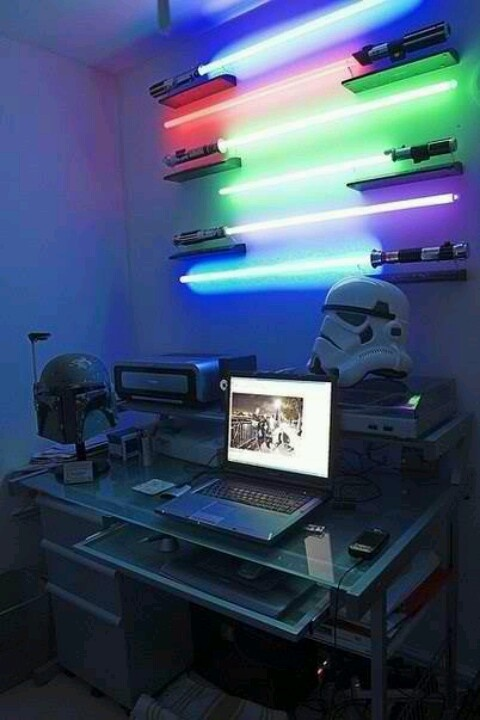 Star wars computer room  Funny pictures  Pinterest  Computers, War and Sta