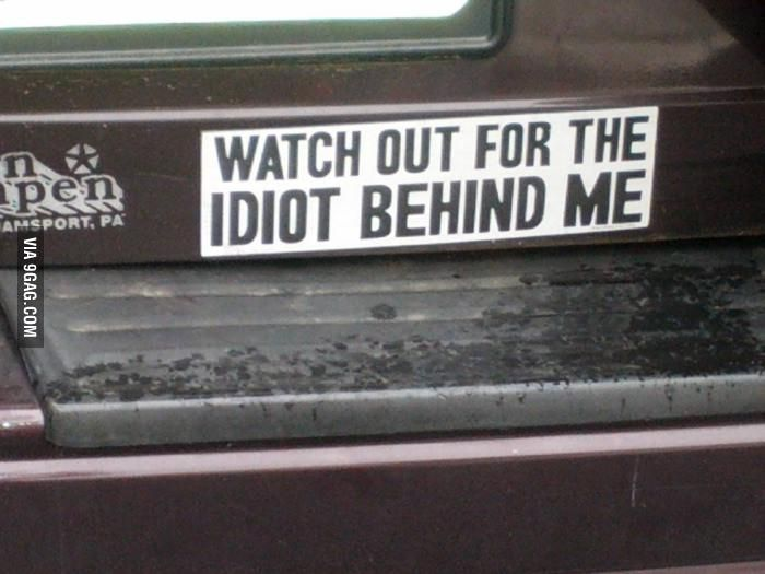 Funniest Bumper Sticker Sayings