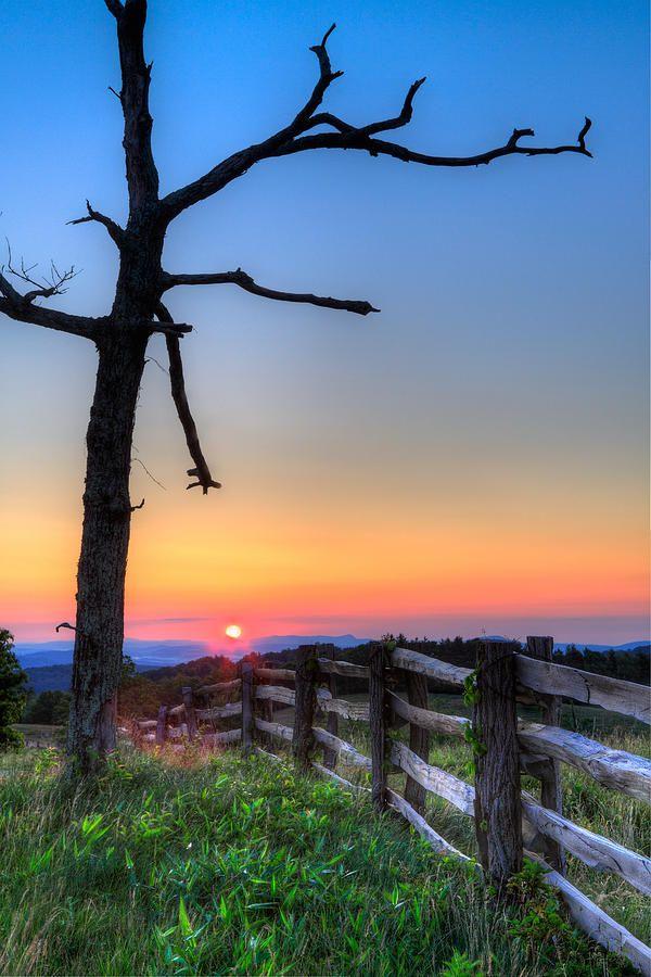 Sunrise, Blue Ridge Mountains, Virginia