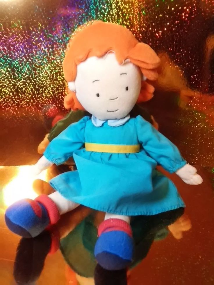 Caillou Sister Rosie Red Head Soft 12-9770
