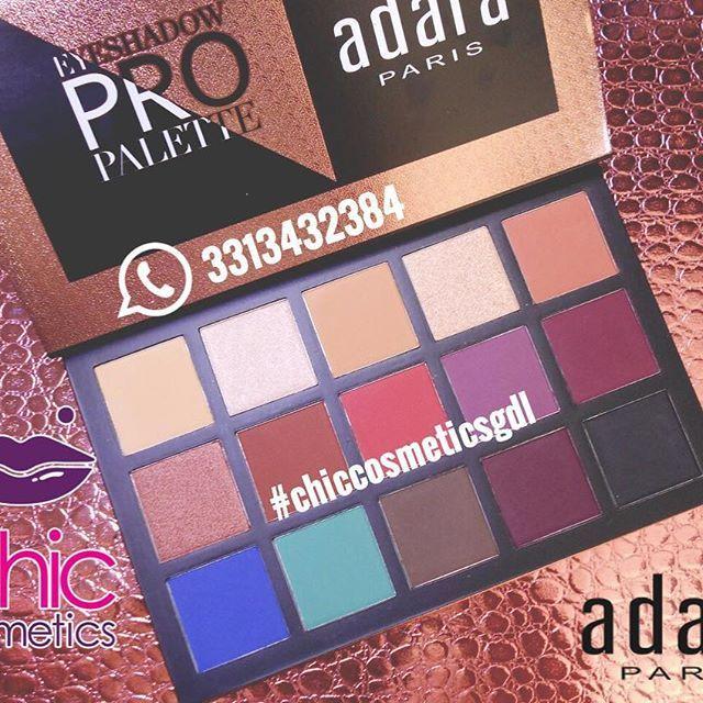Nuevo producto ADARA PARIS  Eyeshadow ProPalette ✨✨✨ #adaraparis #adaracosmetics #cosmeticosadara #eyeshadowpropalette #paletadesombras #ChicCosmeticsgGdl #TuDistribuidordeConfianza #ProveedorCosmeticos #proveedorconfiable #DistribuidorAutorizado #precioespecialaMayoristas #menudeo #Mayoreo #Cosmeticos #Cosmetics #BeautyVlogger #MakeUp #Maquillaje #CosmeticosMayoreo