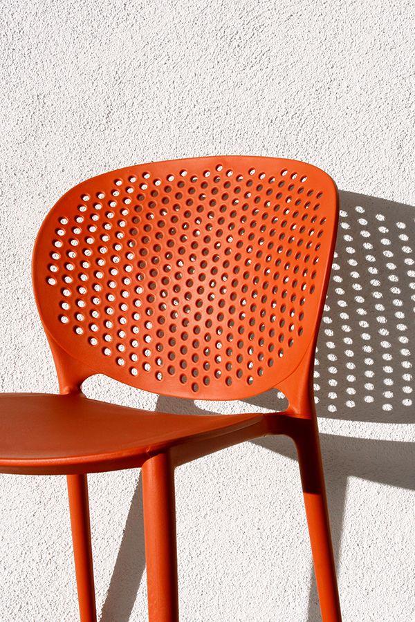 Orange Outdoor Chair