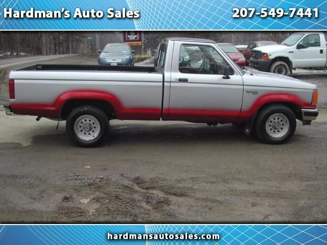 Used 1992 Ford Ranger S Reg. Cab 2WD for Sale in Whitefield  ME 04353 Hardman's Auto Sales