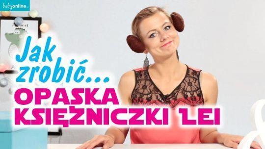 Jak zrobić opaskę księżniczki Lei z Star Wars