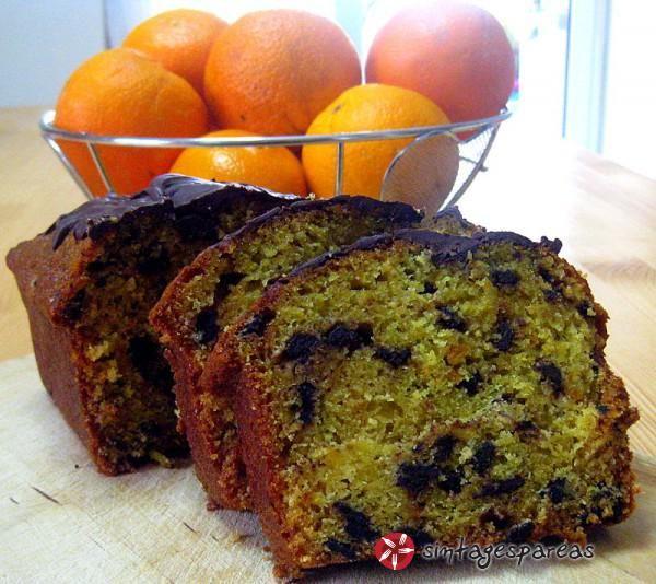 Φανταστικό κέικ πορτοκαλιού με σοκολάτα #sintagespareas #cakeportokaliou #sokolata