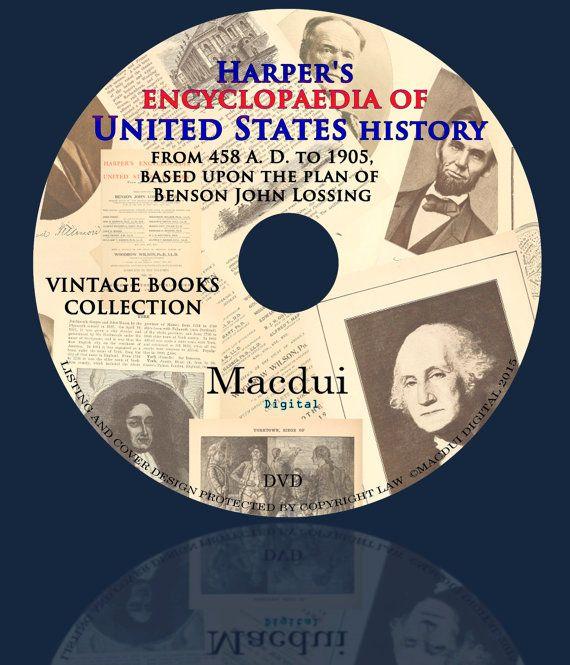 Harper's encyclopaedia of United States history by MacduiDigital