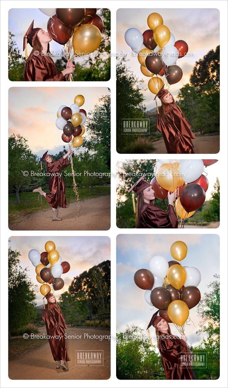 Breakaway} Katelyn | Laguna Hills HS | senior portraits | orange county | balloons | cap gown » breakaway-grads.com