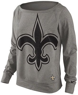 Nike Women's Sweatshirt, NFL Dri-FIT New Orleans Saints.. I WANT THIS!!!