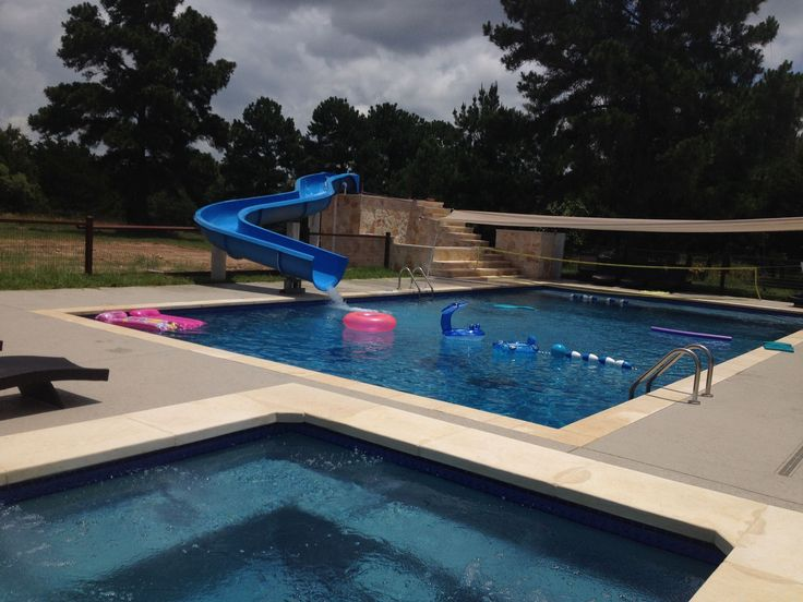 Water Slides For Residential Pools Residential Pool