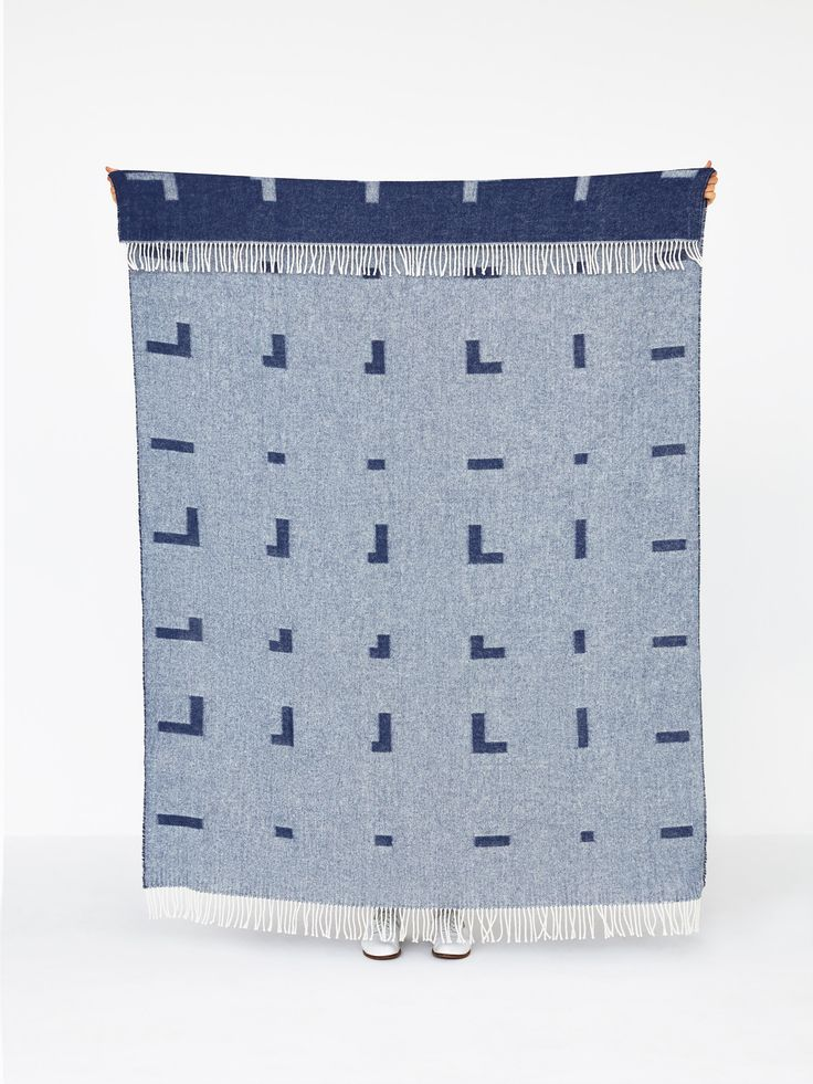 Iota blanket Royal Blue