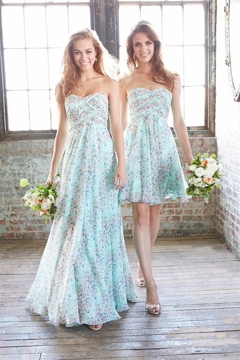 'In Bloom' Collection of Bridesmaid Dresses Available at Ella Park Bridal   Newburgh, IN   812.853.1800   Allure Bridesmaids - Style 1437