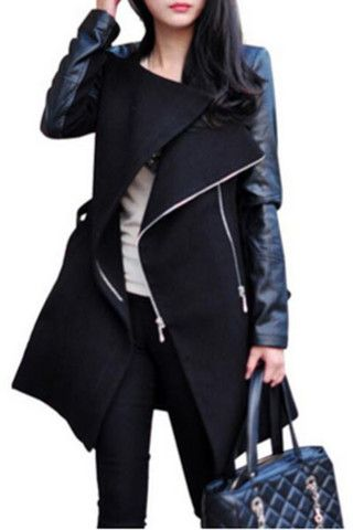 Adelaide Water-Fall Trench Coat – Auemay