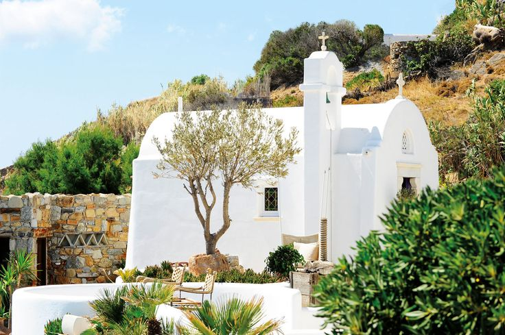 The private chapel of Kivotos Luxury Boutique Hotel  http://www.kivotosmykonos.com/photos/weddings/