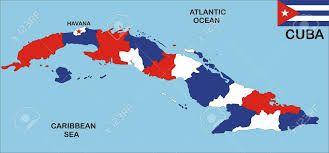 Resultado de imagen de mapa de cuba