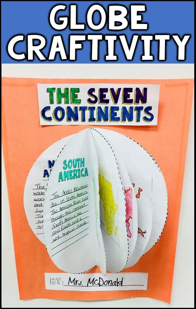 The Seven Continents Five Oceans Reading Passages Slide Shows