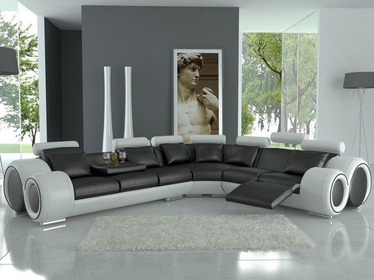 Modern Italian Design Franco Sectional Sofa   Everything ...