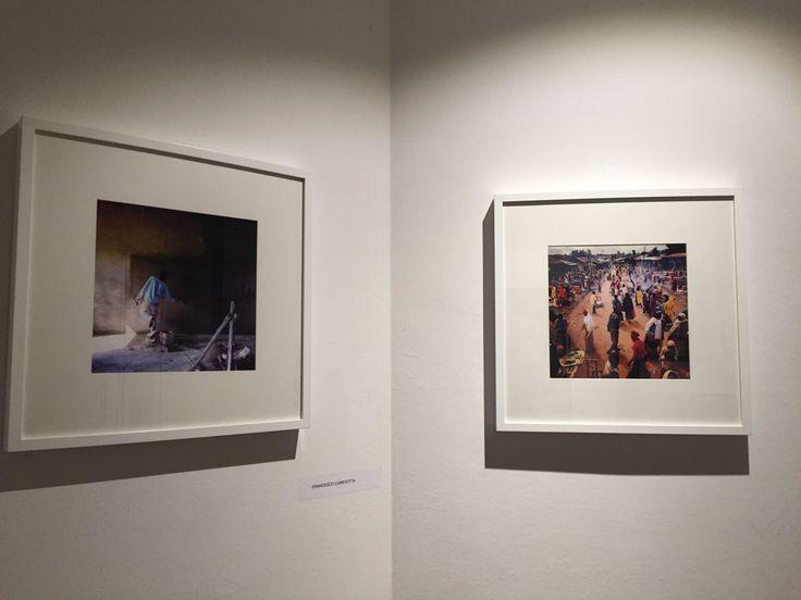 In questa due opere di Francesco Cianciotta nell'atrio di ingresso.