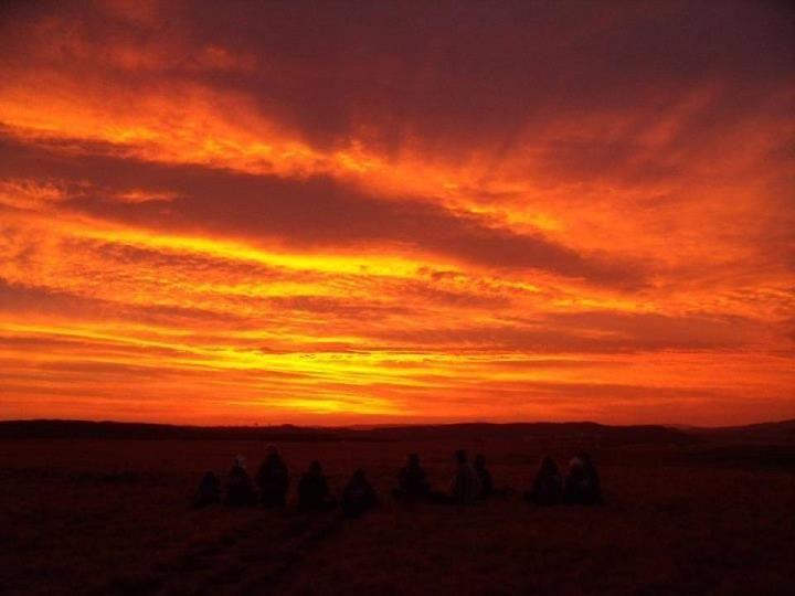 Sani Pass Sunrise, South Africa