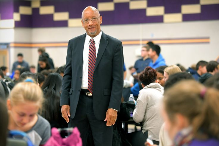 Food services manager Rodney Taylor joined Fairfax County schools with a mandate to turn it into a national model.