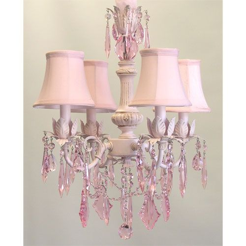 17 Best images about Shabby Chic Little Girls Rooms – Chandeliers for Nursery Rooms